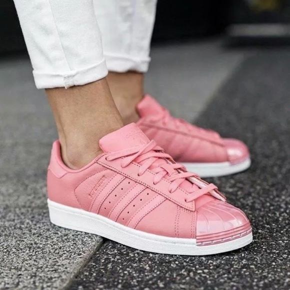 01b123c6ea4 NEW Adidas Superstar Tactile Rose 80 s Sneakers